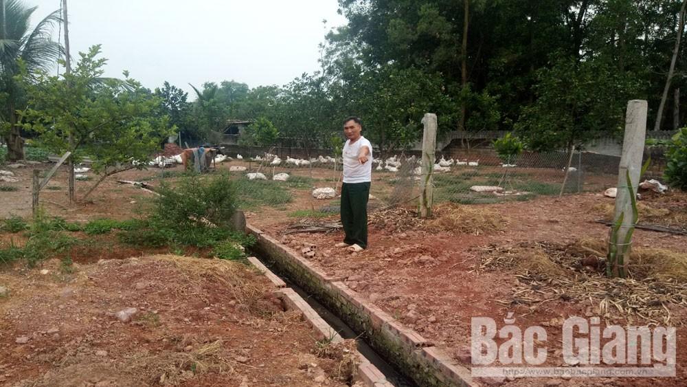 Giải quyết dứt điểm lấn chiếm mương nước tại xã Lương Phong (Hiệp Hòa)